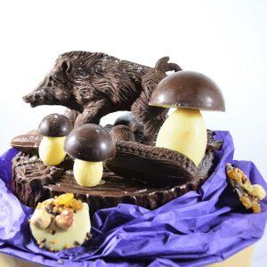 Sujet de Noël en chocolat - vente en ligne