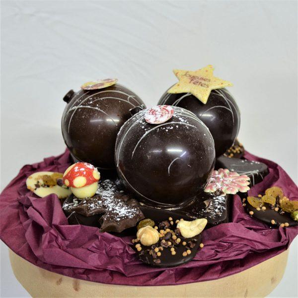 Sujet en chocolat Noël